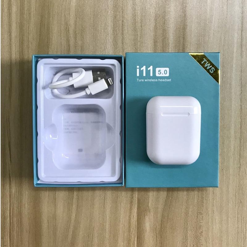 I11 TWS Touch Control casque sans fil Bluetooth 5.0 écouteurs sport casque PK i7s i9s pour téléphone avec micro écouteurs