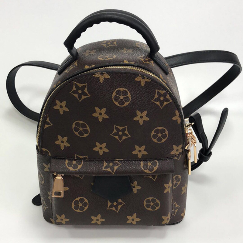 Backpack Women's Bag Women's 2018 New Style Korean-style Classic Retro Printed Backpack Trend WOMEN'S Bag