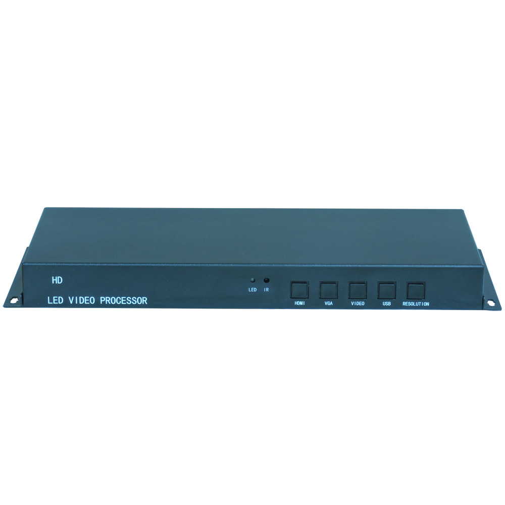 TK-100 LED Video Processor,easy To Control,the Resolution Up To 1920x1080@60HZ, LED Video Controller