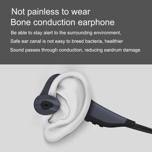 Image 3 - Fashion Outdoor IP68 Leben Wasserdicht MP3 Player Bluetooth Knochen leitung Kopfhörer Sport HiFi Music16G Speicher Lauf Kopfhörer