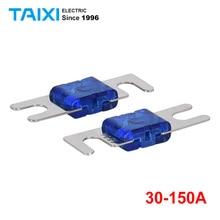 лучшая цена 30A-150A Car Audio Fuse Core/Car Insulator/Dissolution Fuse/Fuse