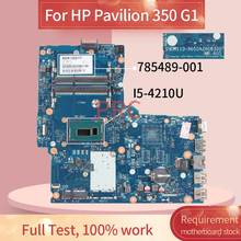 785489-785489-501 para HP Pavilion 350 G1 001 6050A2608301 DDR3 I5-4210U Laptop motherboard Notebook Mainboard(China)