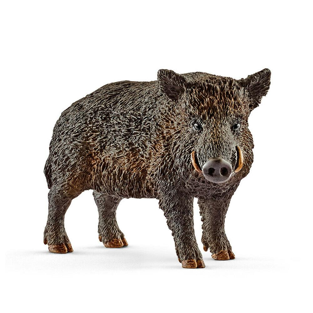 2 8inch Simulation Animal Toys Wild Life Wild Boar Figurine Pvc Figures Wild Boar Model Toys 14783 New Action Toy Figures Aliexpress