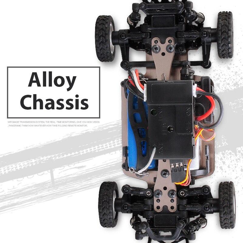 WLtoys K989 четырехколесный привод с дистанционным управлением, автомобильное зарядное устройство, электрические игрушки, мини-гоночный автомобиль 1:28, высокоскоростной внедорожник 4