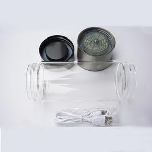 Image 4 - 420ML מימן מים גנרטור אלקליין יצרנית נטענת נייד עבור טהור H2 מימן עשיר בקבוק מים אלקטרוליזה