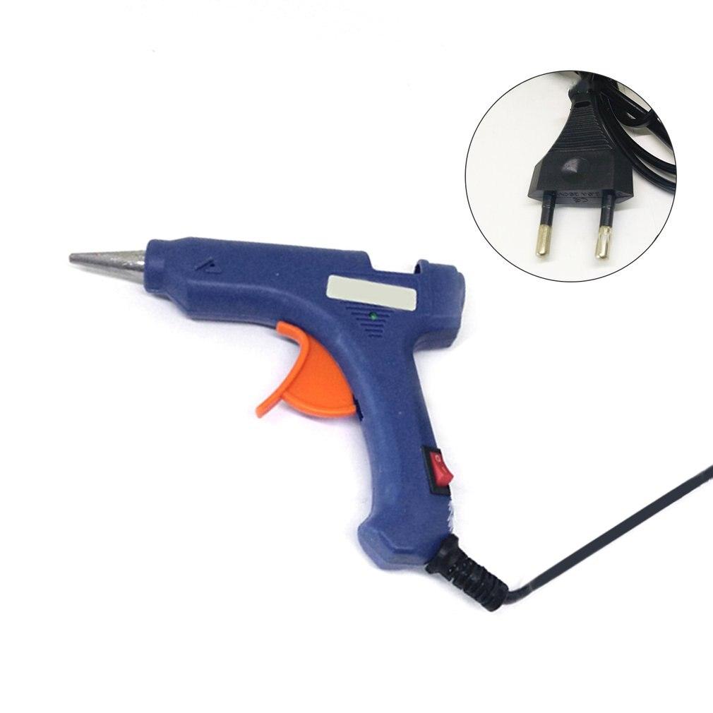 20W Mini Hot Melt Glue Gun High Temperature Melting Tool Electric Guns Repair Tool Flexible Trigger For DIY Craft Sealing