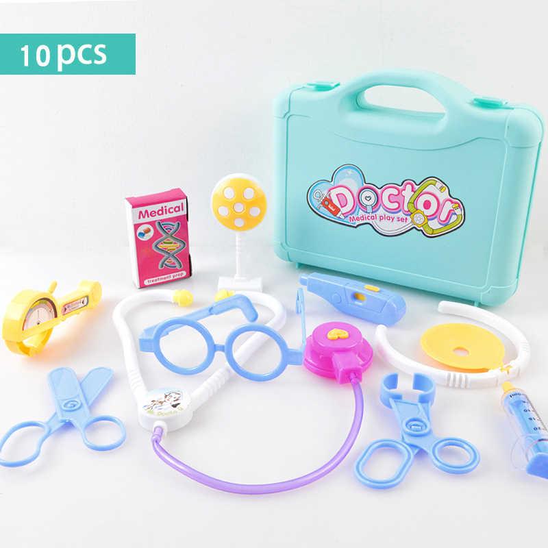 Kinderen Arts Speelgoed Set Simulatie Huisarts Medische Kit Speelgoed Pretend Play Draagbare Koffer Geneeskunde Accessorie Kinderen Speelgoed