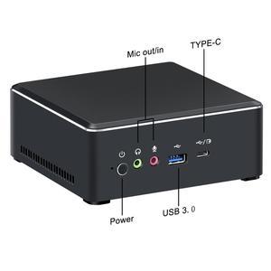 Мини-ПК Chatreey AMD Ryzen с Vega Graphics 4K UHD Nvme SSD Настольный игровой компьютер