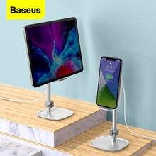 Support de chargeur sans fil Baseus 15W pour iPhone Samsung Xiaomi support de tablette réglable support de téléphone portable de bureau pour iPad Pro Air
