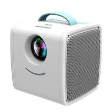 EU Plus мини Q2 Домашний Детский проектор, портативный светодиодный проектор с поддержкой Hd 1080P маленький прожектор 20-80 дюймов Размер проекции