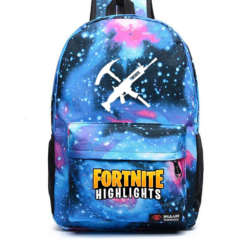 Currently Available Fortnite Mobilefortress Of Luminous Game Related Backpack Teenager Sports Backpack Student School Bag