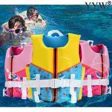 Высокое качество Детские Спасательный Жилет Плавание катание