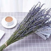 Один пучок романтика, Прованс натуральный DIY цветок лаванды сушеные цветы домашний офис Банкет Свадебные украшения