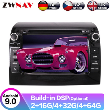 Android 9 8 core 4+64G PX6 GPS Navigation Car Radio Player For FIAT DUCATO 2006-2015 Radio Head Unit Multimedia Player
