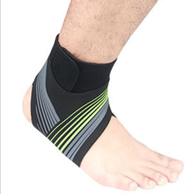Adjustable Elastic Ankle Sleeve High Elastic Ankle Brace Guard Foot Support Sports Belt Sweat Absorb
