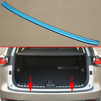 Stainless steel Tailgate Rear Bumper Cover Protector Trim Fit For Lexus NX200t NX300h Accessories 2015 2016 2017 2018