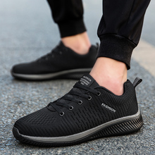 Men Casual Shoes Brand Male Mesh Flats Loafers Slip Breathable designer brand 2019 hot sale running shoes Zapatillas Hombre hot sale fashion flats mens casual shoes men zapatillas hombre air mesh and leather breathable elastic band summer loafers