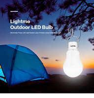 2017 New Hot 15 W LED Ampoule Portable Panneau Solaire Lumière L'énergie solaire Jardin Lampe LED Éclairage de Camping En Plein Air Randonnée Ampoule 130LM