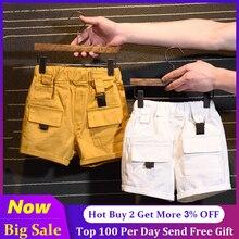 Beach-Shorts Boys/girls Jeans Sport-Pants Baby Teens Kids Children Denim New-Fashion