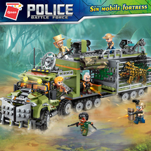 Qman 1924 Building Blocks With Stickers Robot City Police Toys Block Vehicle Aircraft Educational Truck Compatible Model Bricks цена 2017