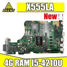 Laptop X555l-Test Asus Mainboard for X555la/X555lab/X555ld/.. 4GB-RAM I5-4210U Akmey