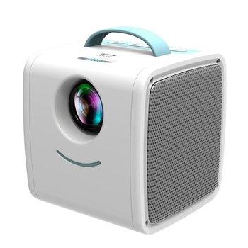Proyector para niños, portátil, Led, soporte HD 1080 P, pequeño proyector de 20-80 pulgadas, tamaño de proyección, EU Plus Mini Q2