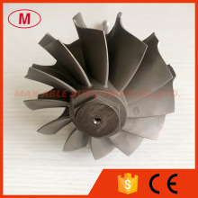 HE551V HE551 75.00/86.00mm 12blades turbine shaft wheel/turbo wheel