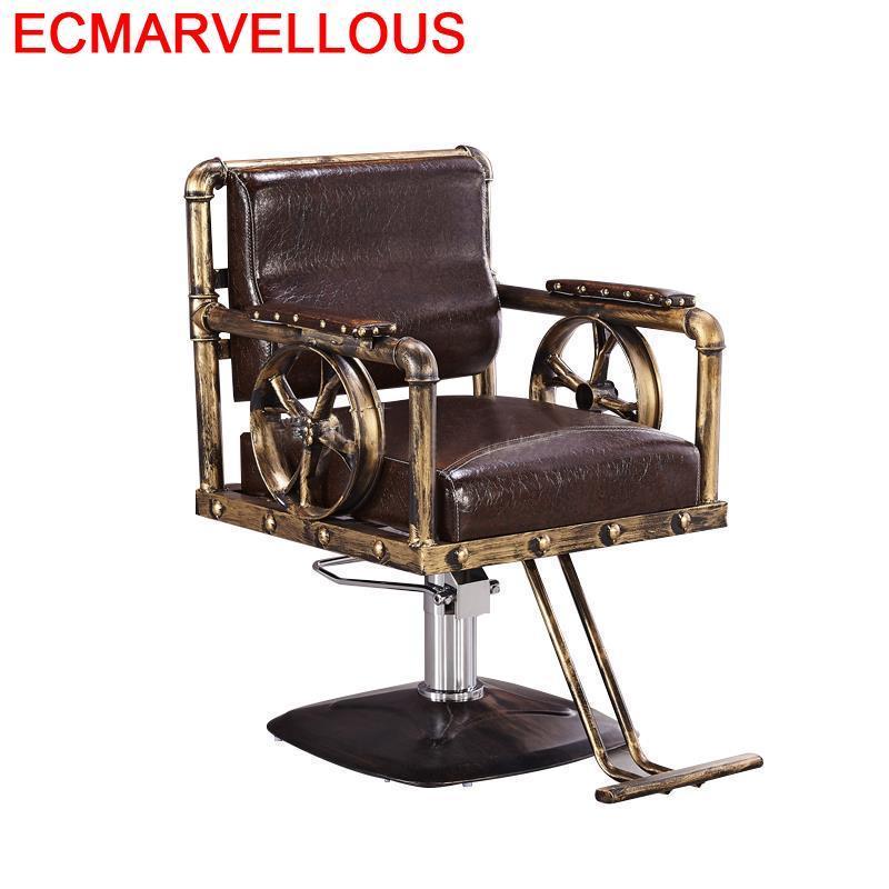 Sessel Chaise Sedie Stuhl Beauty Cadeira Barbeiro Mueble De Furniture Fauteuil Barbearia Salon Barbershop Silla Barber Chair