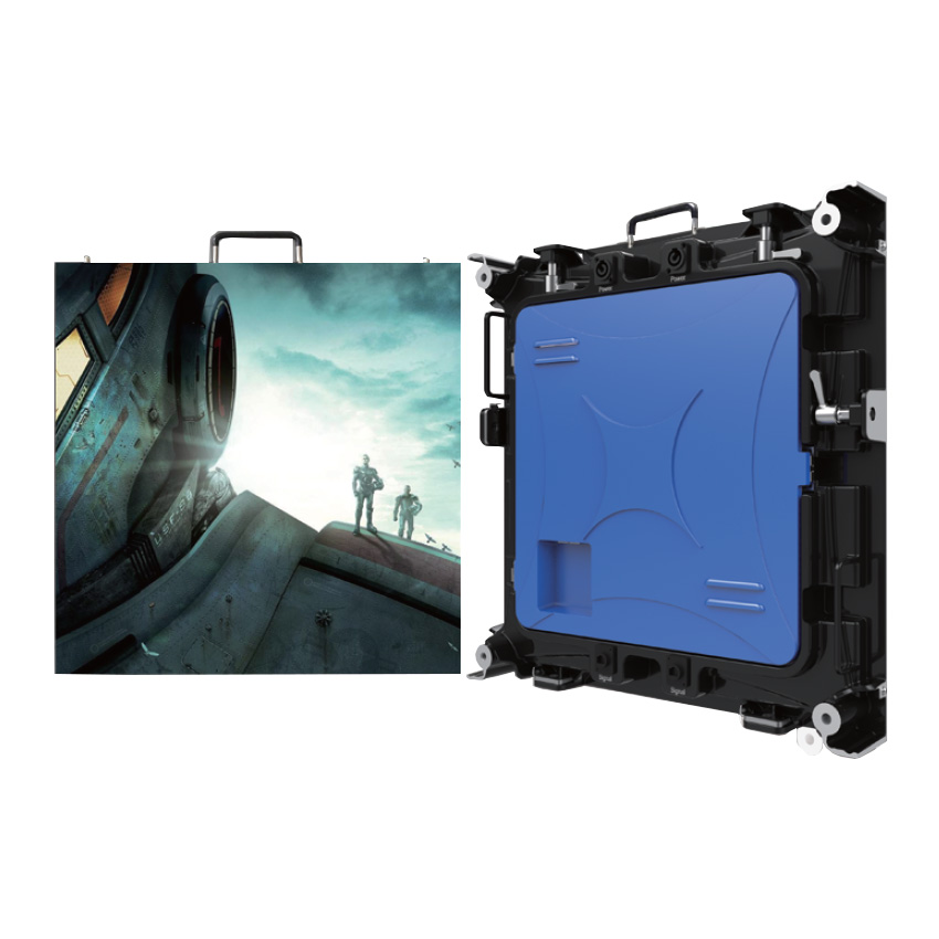 P4 512x512mm Die Casting Aluminum Cabinet  Indoor Outdoor Rental Led Display Screen P8 Empty Cabinet