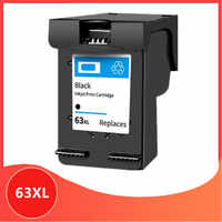 BK 63XL cartucho Compatible para hp 63 XL cartucho de tinta para hp 63 para Deskjet serie 1110, 2130, 2131, 2132, 3630, 4250, 5220, 5230, 5232, 5252