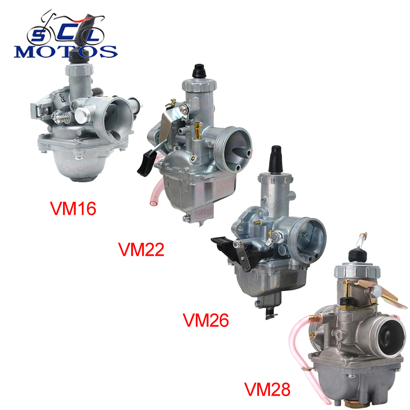 Карбюратор для квадроцикла sclmoto-Mikuni VM Series VM16 19 мм VM22 26 мм VM26 30 мм VM28 32 мм, карбюратор для внедорожника 110cc-250cc CRF KLX ATV Quad