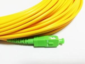 Image 2 - 送料無料sm sx pvc 3ミリメートル30メートルsc apc光ファイバジャンパーケーブルsc/APC SC/apc光ファイバパッチコード