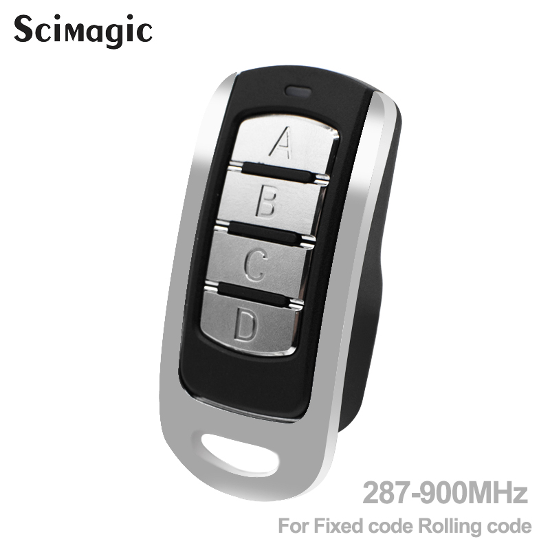 For <font><b>remote</b></font> control gate door 433.92MHz 868.35MHz 4 CH controller <font><b>garage</b></font> opener <font><b>key</b></font> duplicator for fixed rolling code image