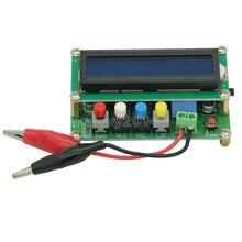 Digital LCD Kapazität meter induktivität tabelle TESTER LC Meter Frequenz 1pF-100mF 1uH-100H LC100-A + Test clip