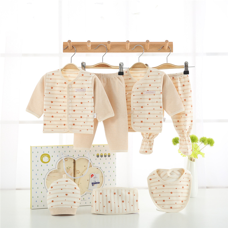 Pure Cotton Clothes For Babies Newborns Gift Set 0-3 A Yue Chun Autumn & Winter Primary Newborn BABY'S FIRST Month Baby