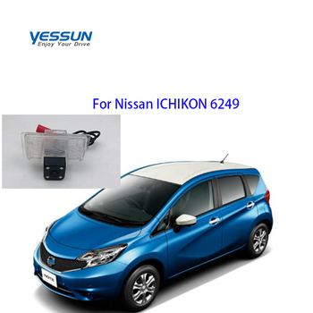 Yessun For Nissan ICHIKON 6249 Car CCD LED Backup Reverse Rear View Camera Car Parking Monitor фото