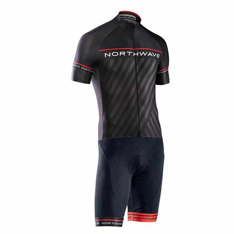 الرجال برو NW فريق بدلة ترايثلون الدراجات الملابس Skinsuit بذلة مايوه الدراجات جيرسي روبا Ciclismo الرياضية