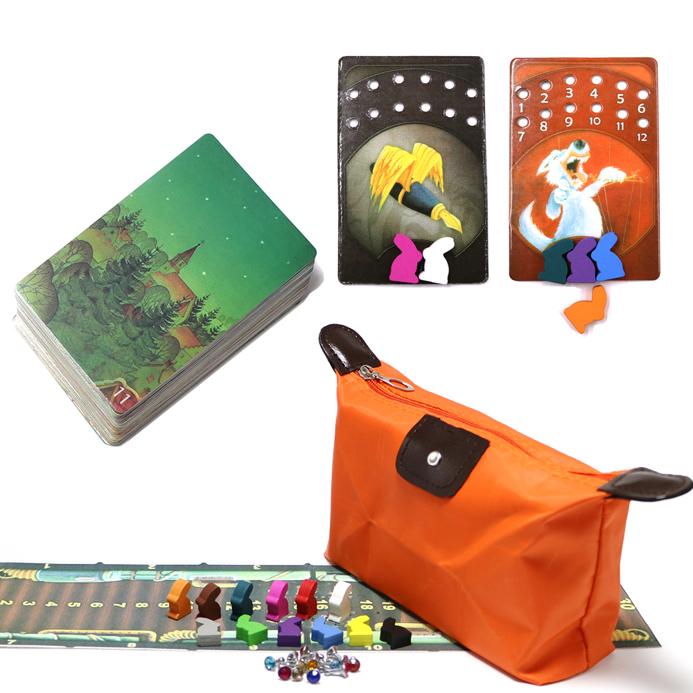 New DD, Mini Dixit Board Games Deck 11- Serenity Wooden Bunny Kids Education Toys 78 Playing Cards Game For Family Party Game