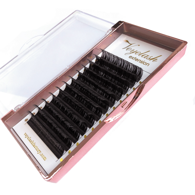 Veyelash Individual Eyelash Extension Mink Lashes Russian Volume Lashes Synthetic Hair Soft Eyelash Extensions Makeup Tools 5