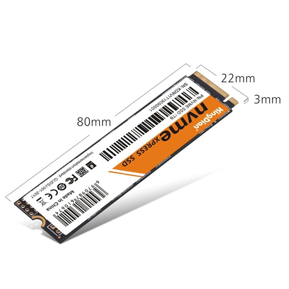 KingDian M.2 NVME PCIE SSD 128 ГБ 256 512 1 ТБ диск Внутренние твердотельные накопители для ноутбука, настольного компьютера