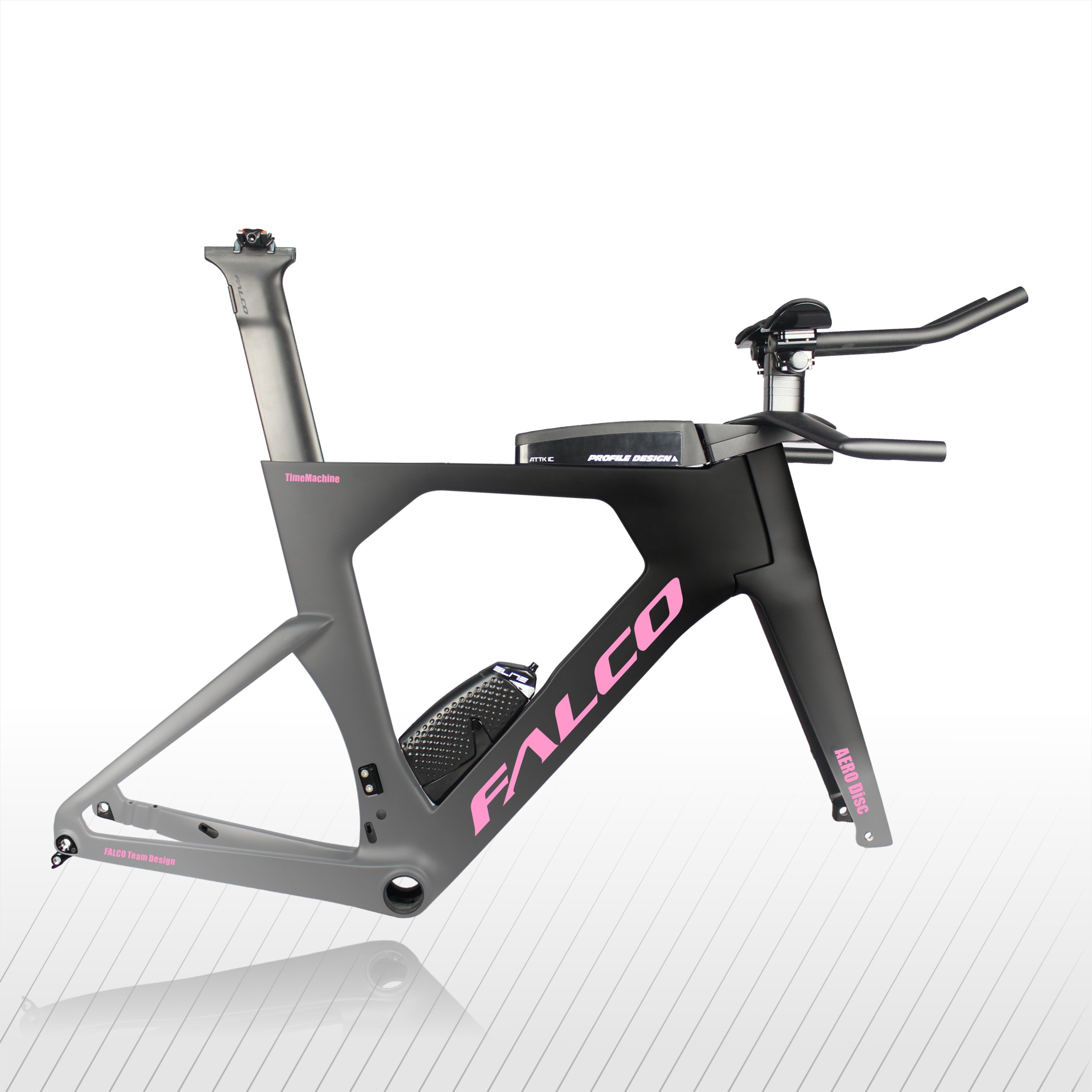 FALCO Aero triathlon vélos DI 2 fibre de carbone TT01 48/52/54/56/58cm carbone chinois tt cadre 700c contre la montre cadre TT912