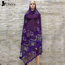 Женский шифоновый шарф в африканском стиле Размер 205*105 см