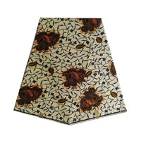 african wax 100% cotton 6yards/piece ankara nigerian block prints fabric in africa woman dress cloth wedding soft V L 654
