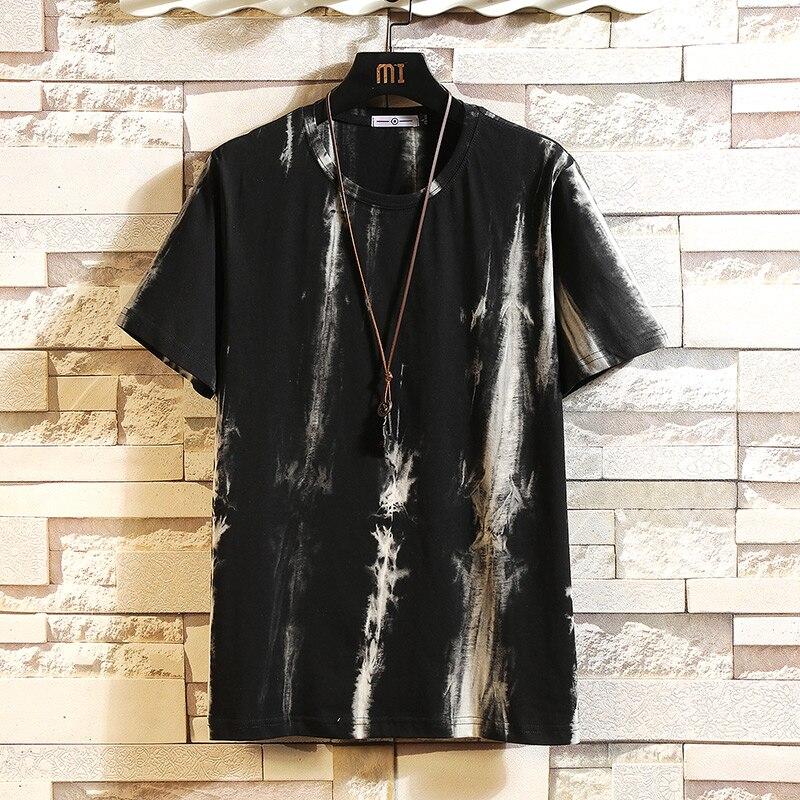 Short Sleeve T Shirt Men 2020 Summer High Quality Print Tshirt Top Tees Brand Fashion Clothes Plus Size M-5XL O NECK