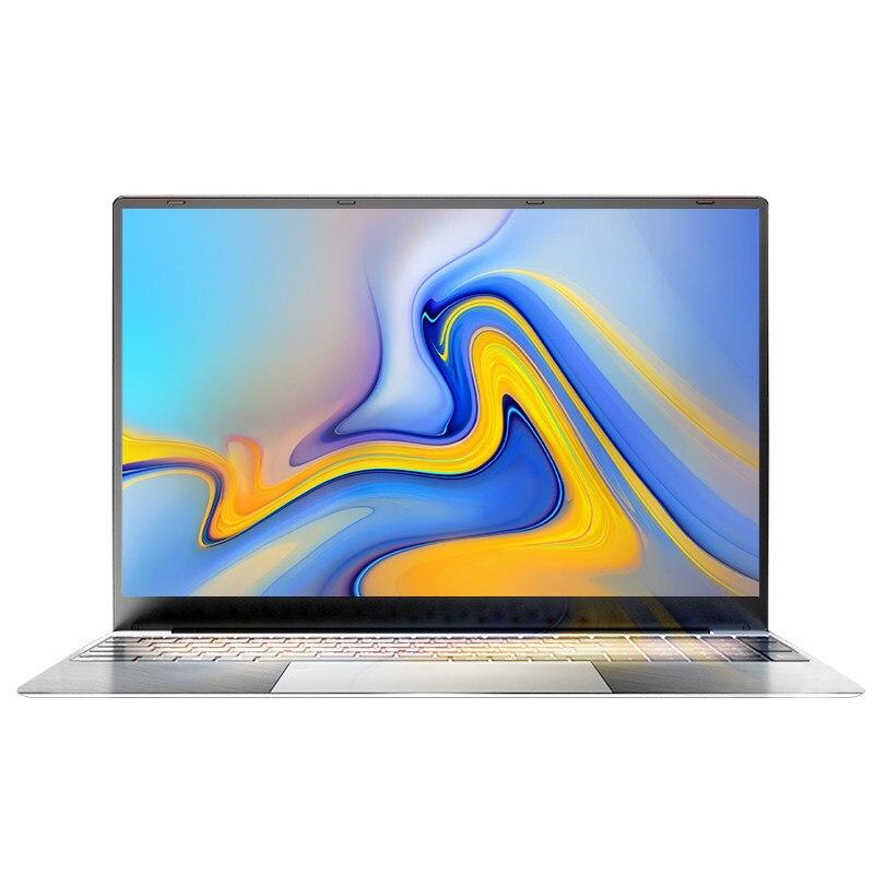 Core i7 15,6 zoll 256GB SSD Intel Quad Core Laptops 1920*1080 Win10 dünne Notebook Computer mit Voller layout Tastatur