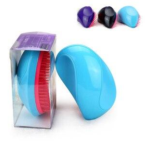 Image 1 - Sıcak tarzı kolu dolaşık açıcı tarak arapsaçı saç fırçası fare combo profesyonel sihirli doğrultma tarak Salon Styling Tamer aracı