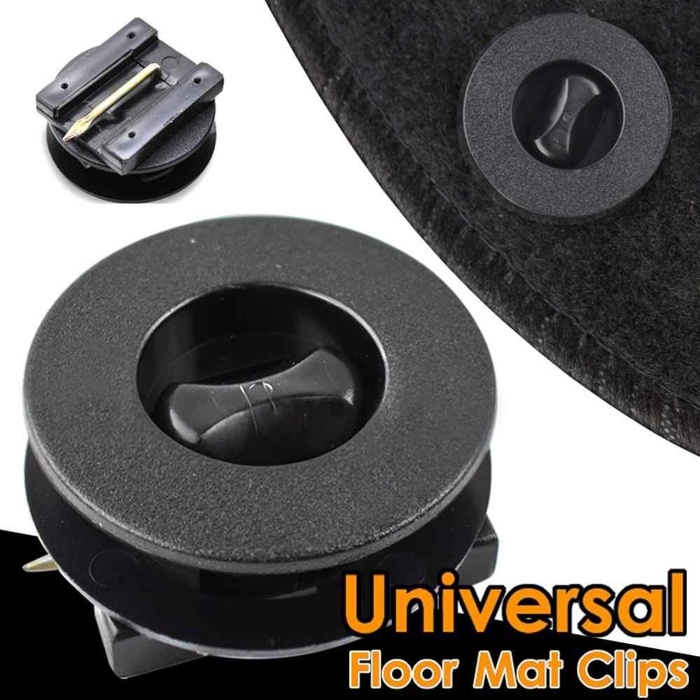 Clipes UNIVERSAL Car Floor Mat Fastener Tapete Liner clipe de fixação da braçadeira Para LADA Priora Kalina Granta Vesta X-Ray Acessórios Gancho
