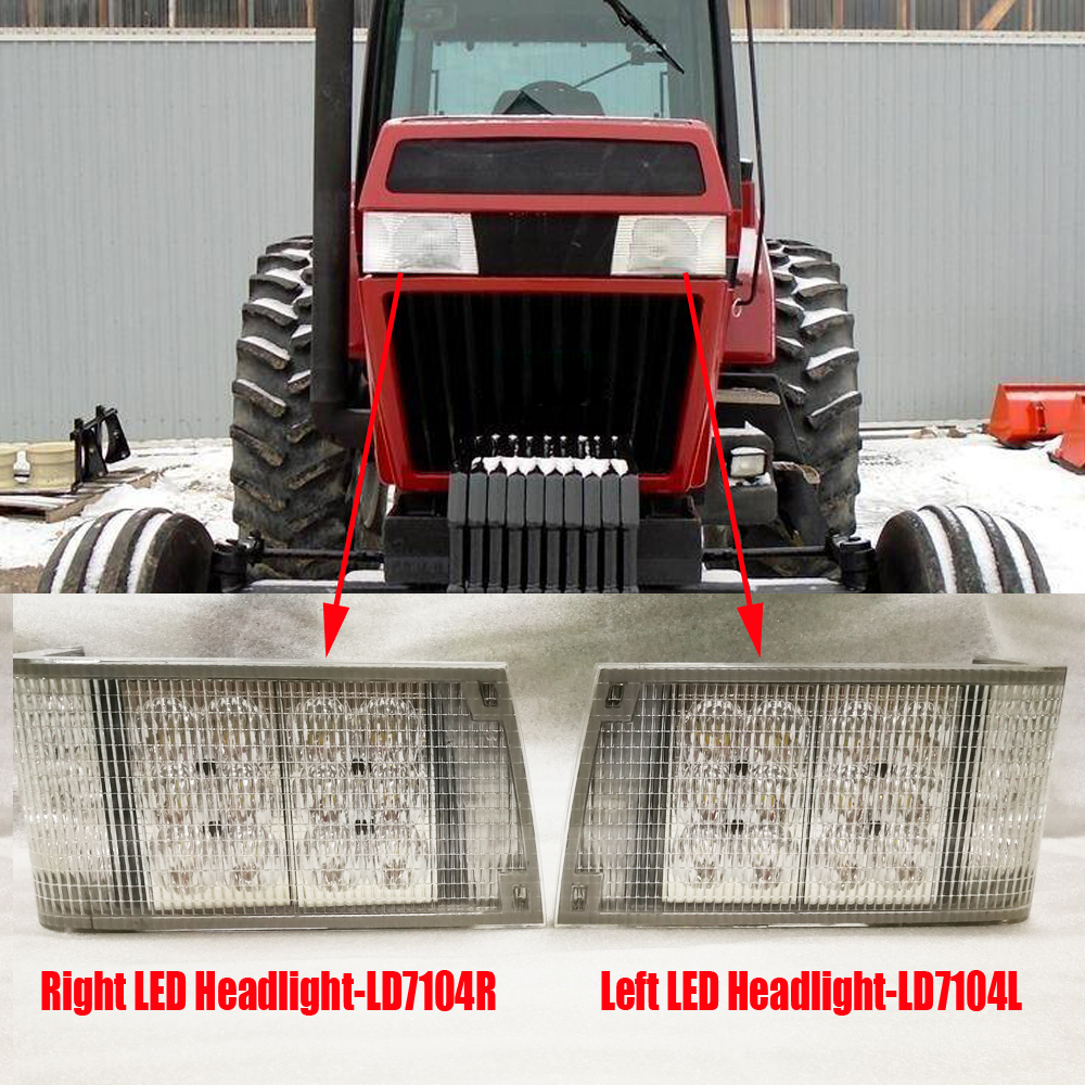 Flashing Beacon Brackets Left /& Right Hand Pair Tractor