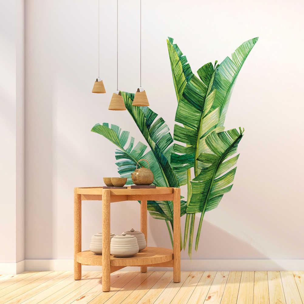 3D Tươi Xanh Cỏ Ván Nhựa PVC Dán Tường Skirting Trẻ Em Phòng Khách Phòng Tắm Nhà Bếp Trang Trí Treo Tường Bức Tranh Tường Lá Cọ