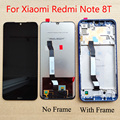 Оригинальный высококачественный Черный 6,3 дюймов для Xiaomi Redmi Note 8T Global M1908C3XG ЖК-дисплей сенсорный экран дигитайзер в сборе